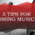 5 tips for Upcoming Musicians